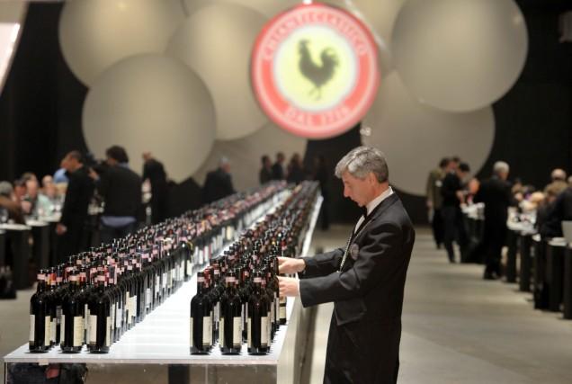 Chianti Classico, czarny kogut, włoskie wino, etykiety, etykiety na wino, ciekawe etykiety