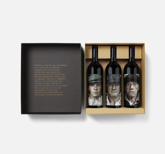 Wino w pudełku, wino hiszpańskie, ciekawe etykiety na wino, etykiety na wino
