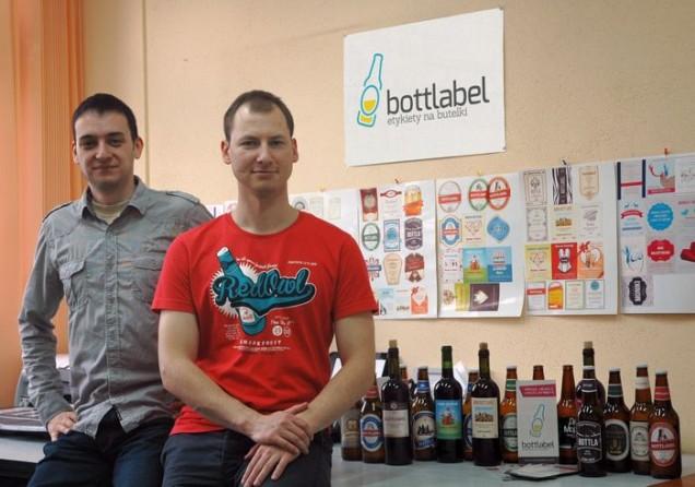 Twórcy sklepu bottlabel.com